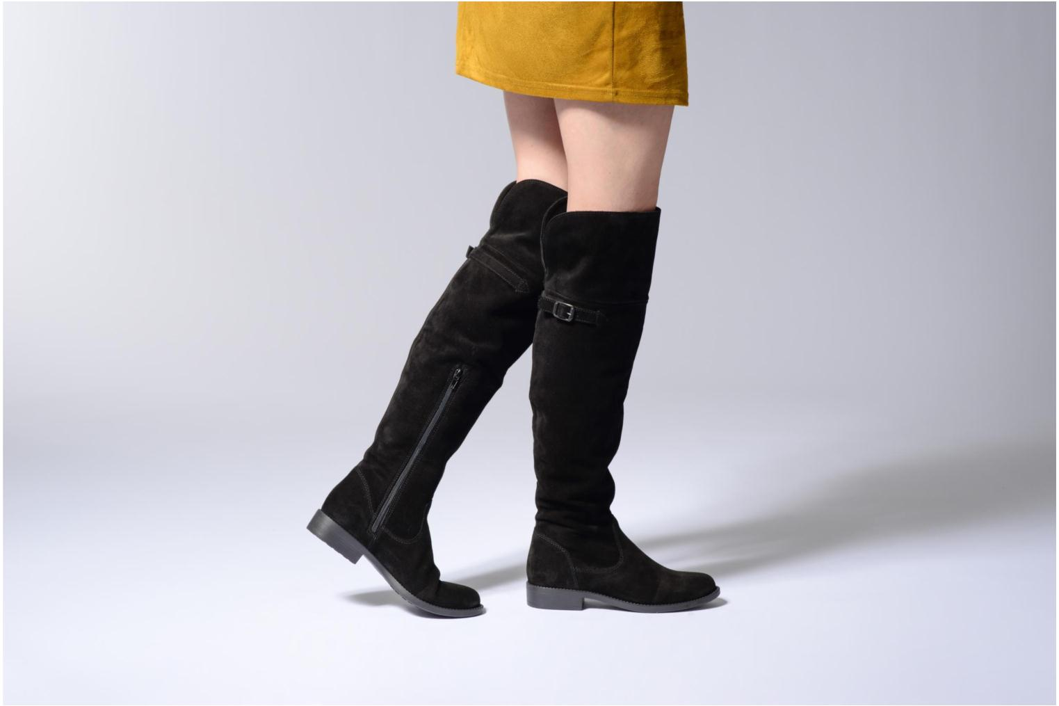 Boots & wellies Tamaris Magla Black view from underneath / model view