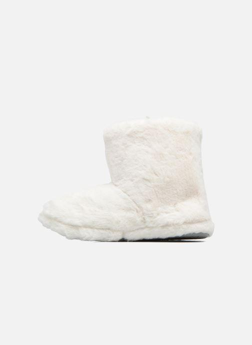 Pantuflas Sarenza Wear Chaussons Boots Femme Etoile Blanco vista de frente