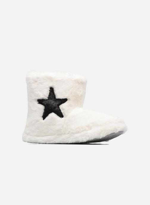 Sarenza Wear Chaussons Boots Femme Etoile Hjemmesko 1 Hvid