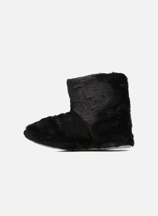 Pantofole Sarenza Wear Chaussons Boots Femme Etoile Nero immagine frontale
