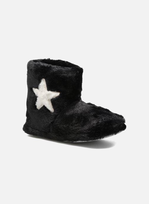 Pantofole Sarenza Wear Chaussons Boots Femme Etoile Nero vedi dettaglio/paio