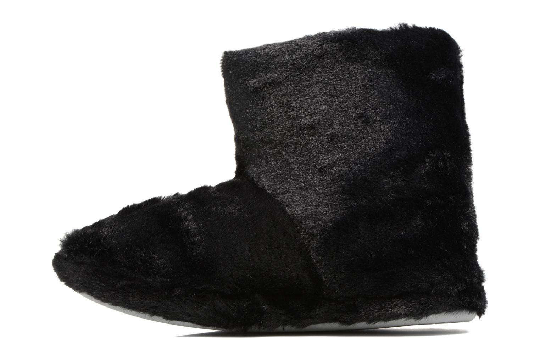 Chaussons Sarenza Wear Chaussons Boots Femme Etoile Noir vue face