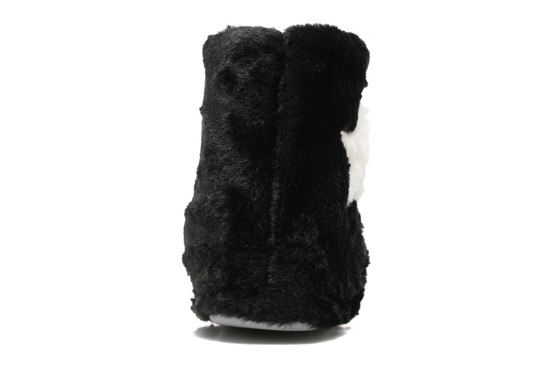 Chaussons Sarenza Wear Chaussons Boots Femme Etoile Noir vue droite