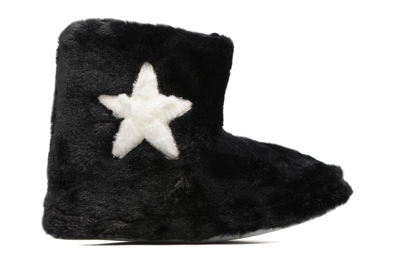 Chaussons Sarenza Wear Chaussons Boots Femme Etoile Noir vue derrière