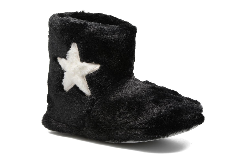 Chaussons Sarenza Wear Chaussons Boots Femme Etoile Noir vue détail/paire