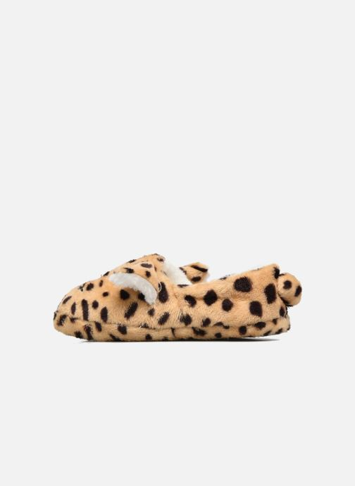 Pantofole Sarenza Wear Chaussons Fille Animal Marrone immagine frontale