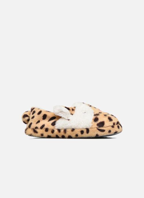 Pantoffels Sarenza Wear Chaussons Fille Animal Bruin achterkant