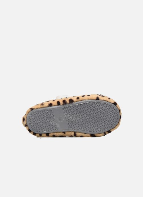 Pantofole Sarenza Wear Chaussons Fille Animal Marrone immagine dall'alto