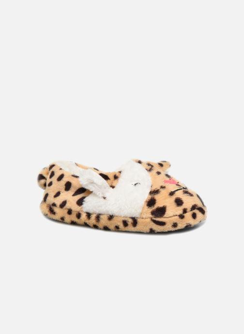 Chaussons Sarenza Wear Chaussons Fille Animal Marron vue détail/paire