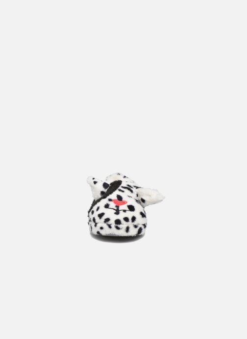 Pantuflas Sarenza Wear Chaussons Fille Animal Blanco vista del modelo