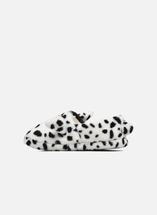 Chaussons Sarenza Wear Chaussons Fille Animal Blanc vue face