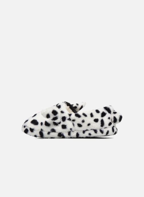 Pantoffels Sarenza Wear Chaussons Fille Animal Wit voorkant