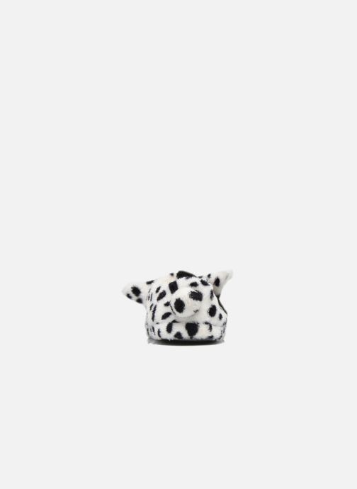 Pantuflas Sarenza Wear Chaussons Fille Animal Blanco vista lateral derecha