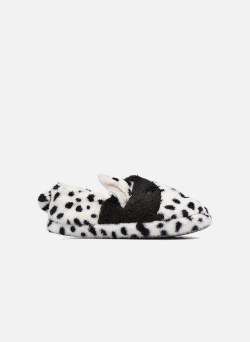 Hausschuhe Sarenza Wear Chaussons Fille Animal weiß ansicht von hinten