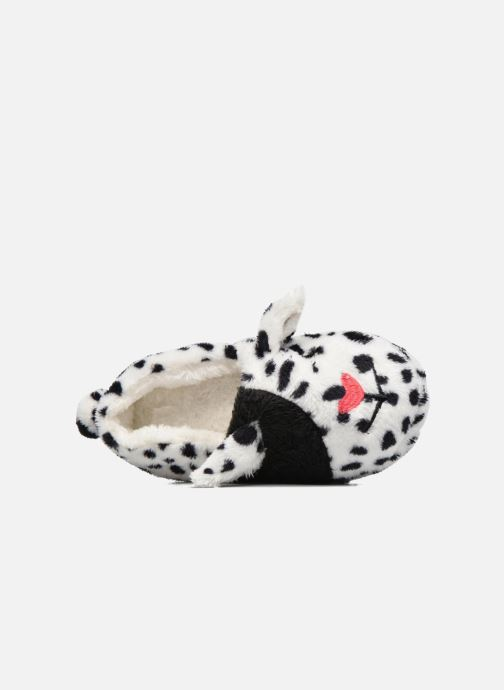 Chaussons Sarenza Wear Chaussons Fille Animal Blanc vue gauche