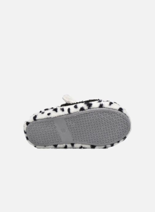 Chaussons Sarenza Wear Chaussons Fille Animal Blanc vue haut