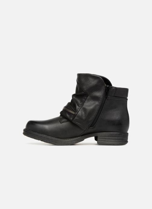 Boots en enkellaarsjes Dockers Neele Zwart voorkant