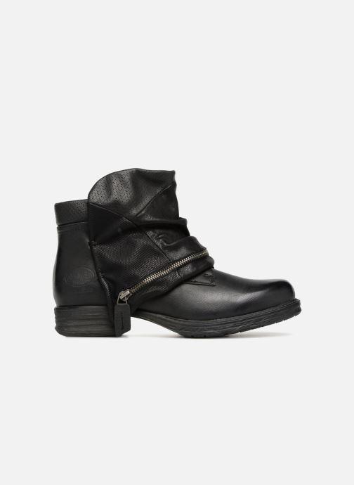 Boots en enkellaarsjes Dockers Neele Zwart achterkant