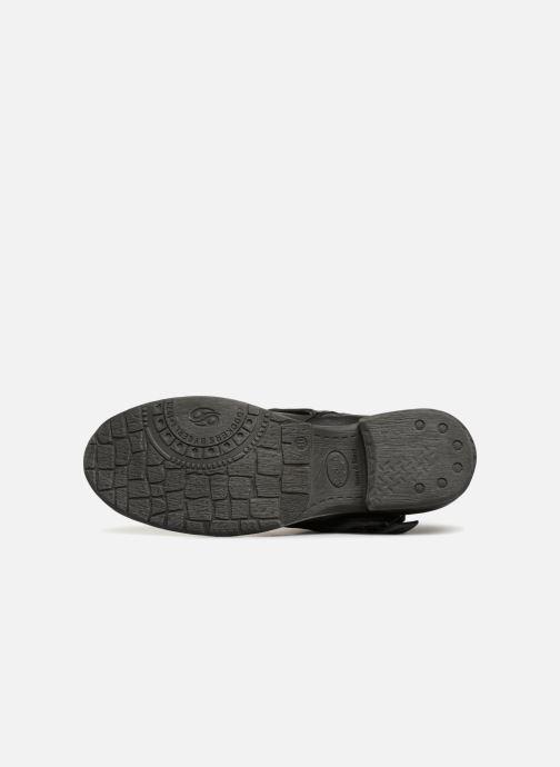 Bottines et boots Dockers Neele Noir vue haut