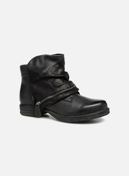 Boots en enkellaarsjes Dockers Neele Zwart detail