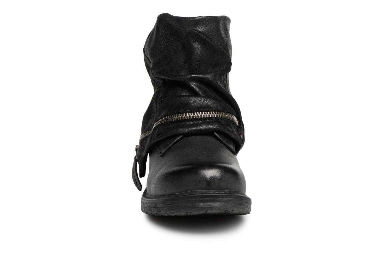 Bottines et boots Dockers Neele Noir vue portées chaussures
