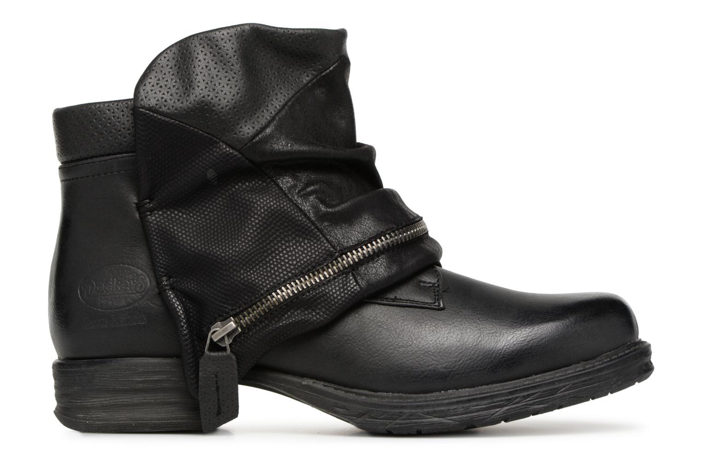Bottines et boots Dockers Neele Noir vue derrière