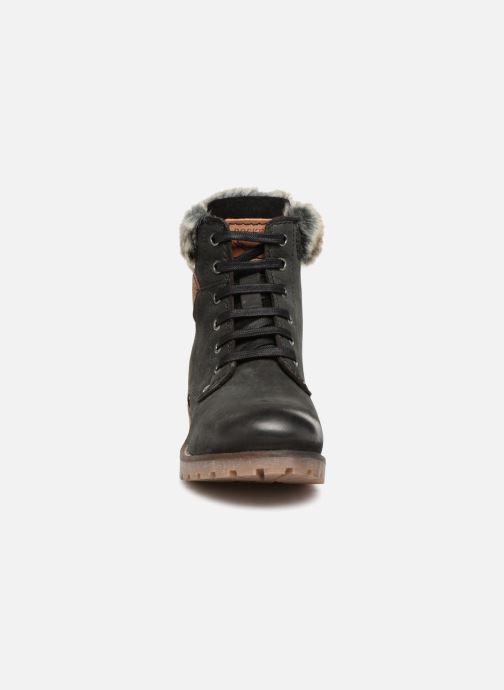 Bottines et boots Dockers Finn Noir vue portées chaussures