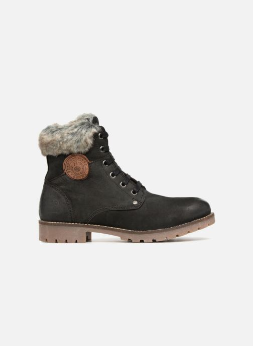 Bottines et boots Dockers Finn Noir vue derrière