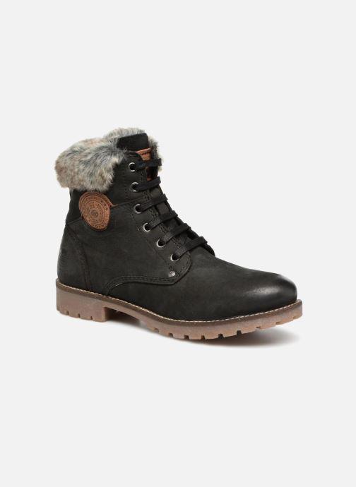 Bottines et boots Dockers Finn Noir vue détail/paire