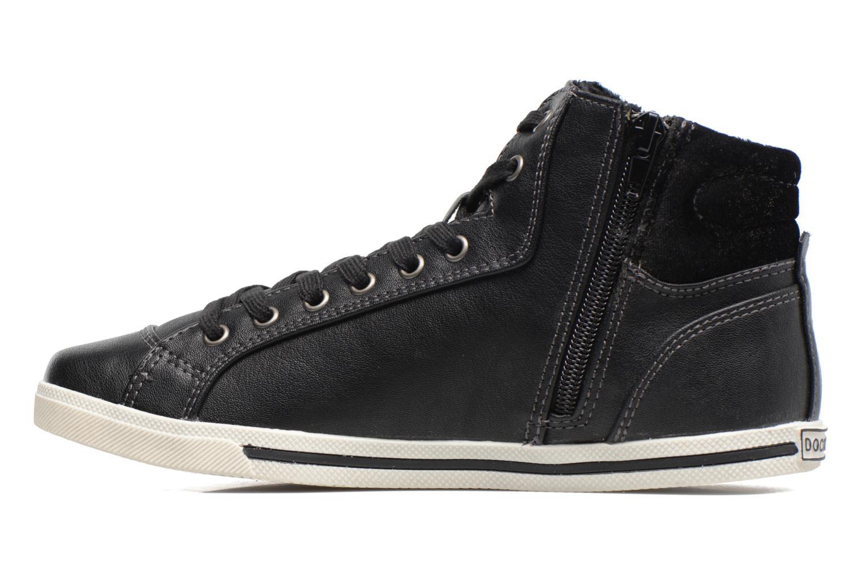Sneakers Dockers Janja Zwart voorkant