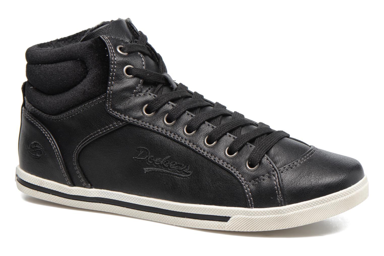 Sneakers Dockers Janja Zwart detail