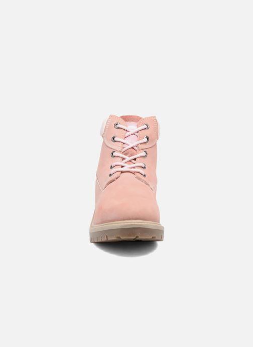 Bottines et boots Dockers Klara Rose vue portées chaussures