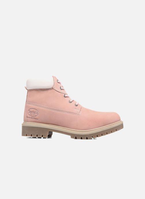 Bottines et boots Dockers Klara Rose vue derrière