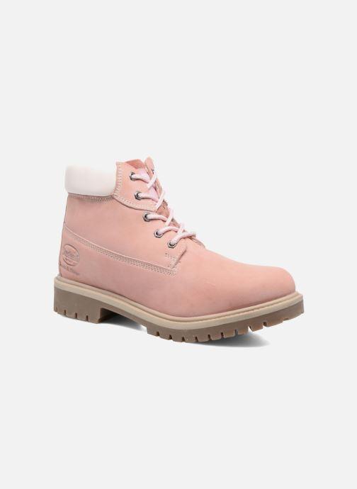 Stiefeletten & Boots Dockers Klara rosa detaillierte ansicht/modell