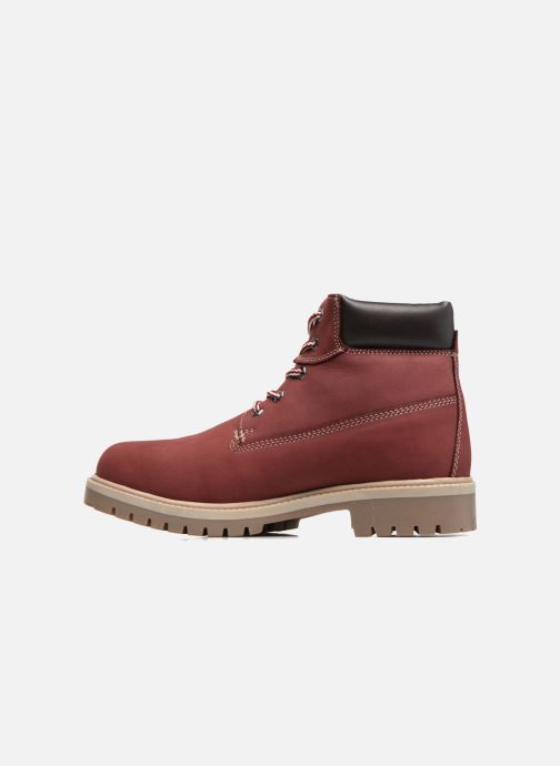 Ankle boots Dockers Klara Burgundy front view