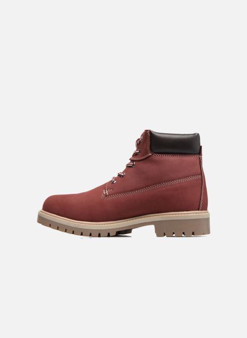 Bottines et boots Dockers Klara Bordeaux vue face