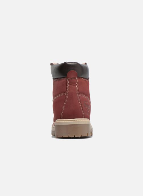 Ankle boots Dockers Klara Burgundy view from the right