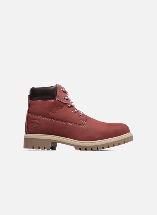 Bottines et boots Dockers Klara Bordeaux vue derrière
