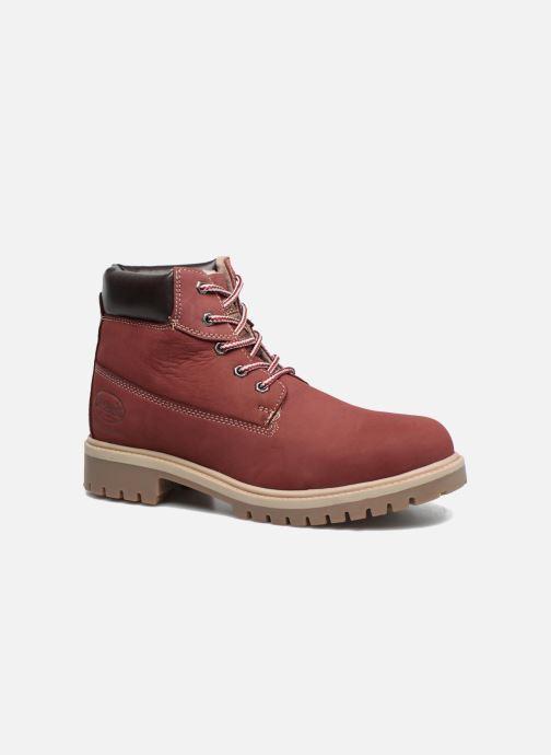 Bottines et boots Dockers Klara Bordeaux vue détail/paire