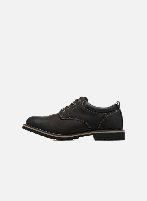 Zapatos con cordones Dockers Rolf Negro vista de frente