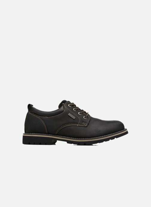Zapatos con cordones Dockers Rolf Negro vistra trasera