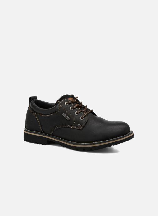 Zapatos con cordones Dockers Rolf Negro vista de detalle / par