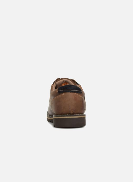 Chaussures à lacets Dockers Rolf Marron vue droite