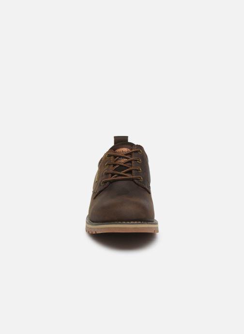 Zapatos con cordones Dockers Rolf Marrón vista del modelo