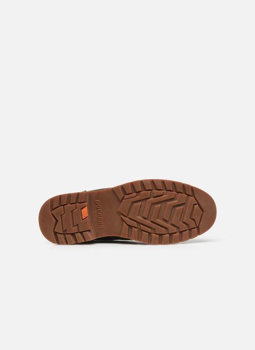 Chaussures à lacets Dockers Rolf Marron vue haut