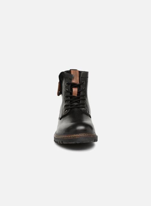 Bottines et boots Dockers Otto Noir vue portées chaussures
