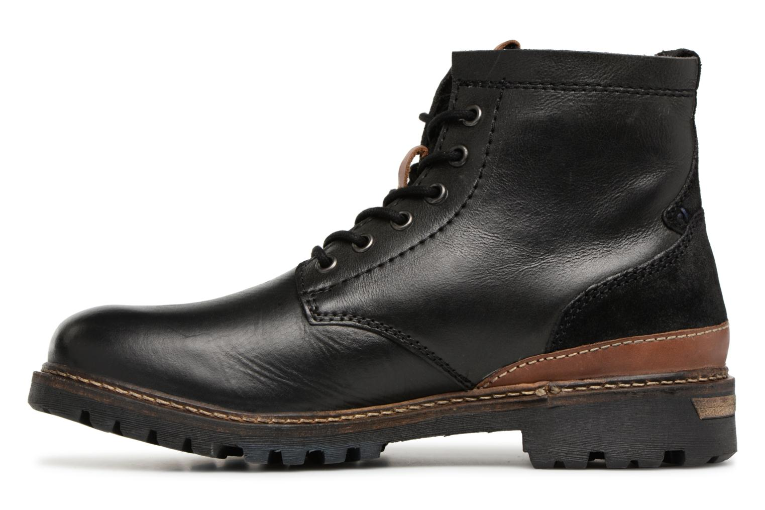 Bottines et boots Dockers Otto Noir vue face
