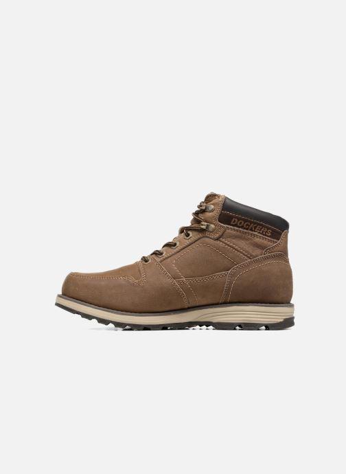 Boots en enkellaarsjes Dockers Klaus Bruin voorkant