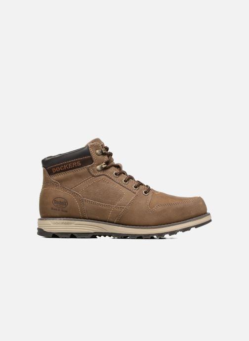 Bottines et boots Dockers Klaus Marron vue derrière