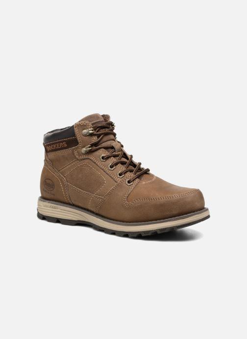 Boots en enkellaarsjes Dockers Klaus Bruin detail
